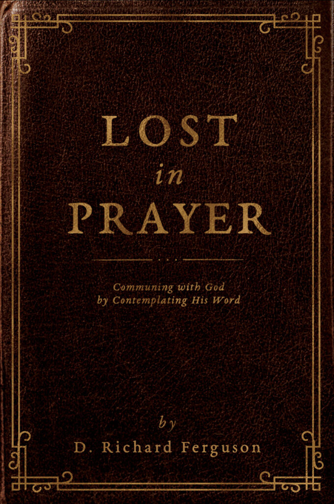Lost in Prayer communing with God by Contemplating his word guided prayer devotional book cover