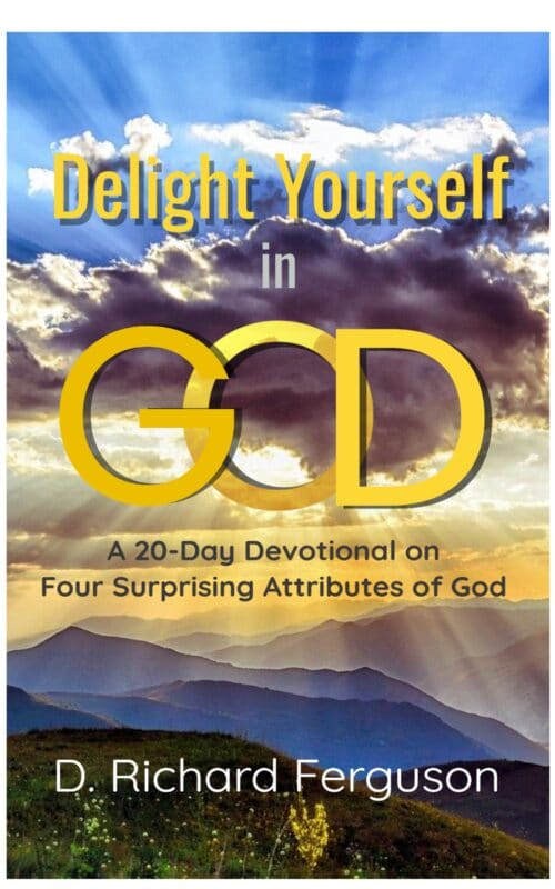 Delight Yourself  in God: A 20-Day Devotional on  Four Surprising Attributes of God